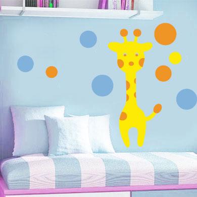 decoracion infantil jirafa
